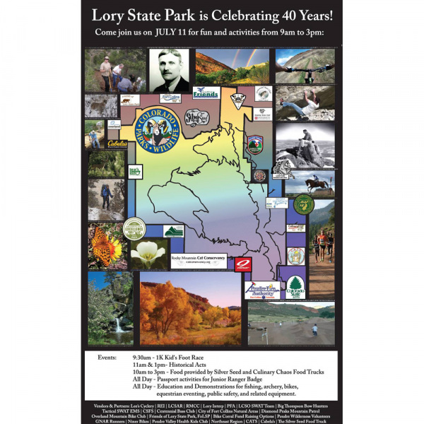 Poster Graphic | Friends of Lory State Park Event