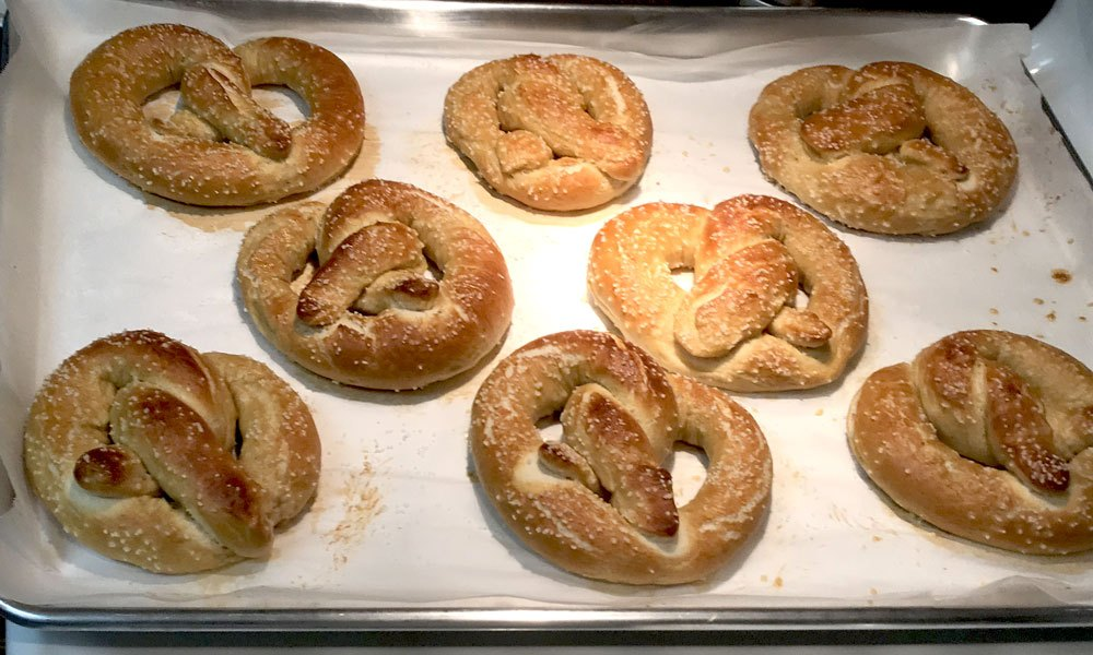 I love to make Homemade Soft Pretzels, Breads, and Fantastic Baked Goods