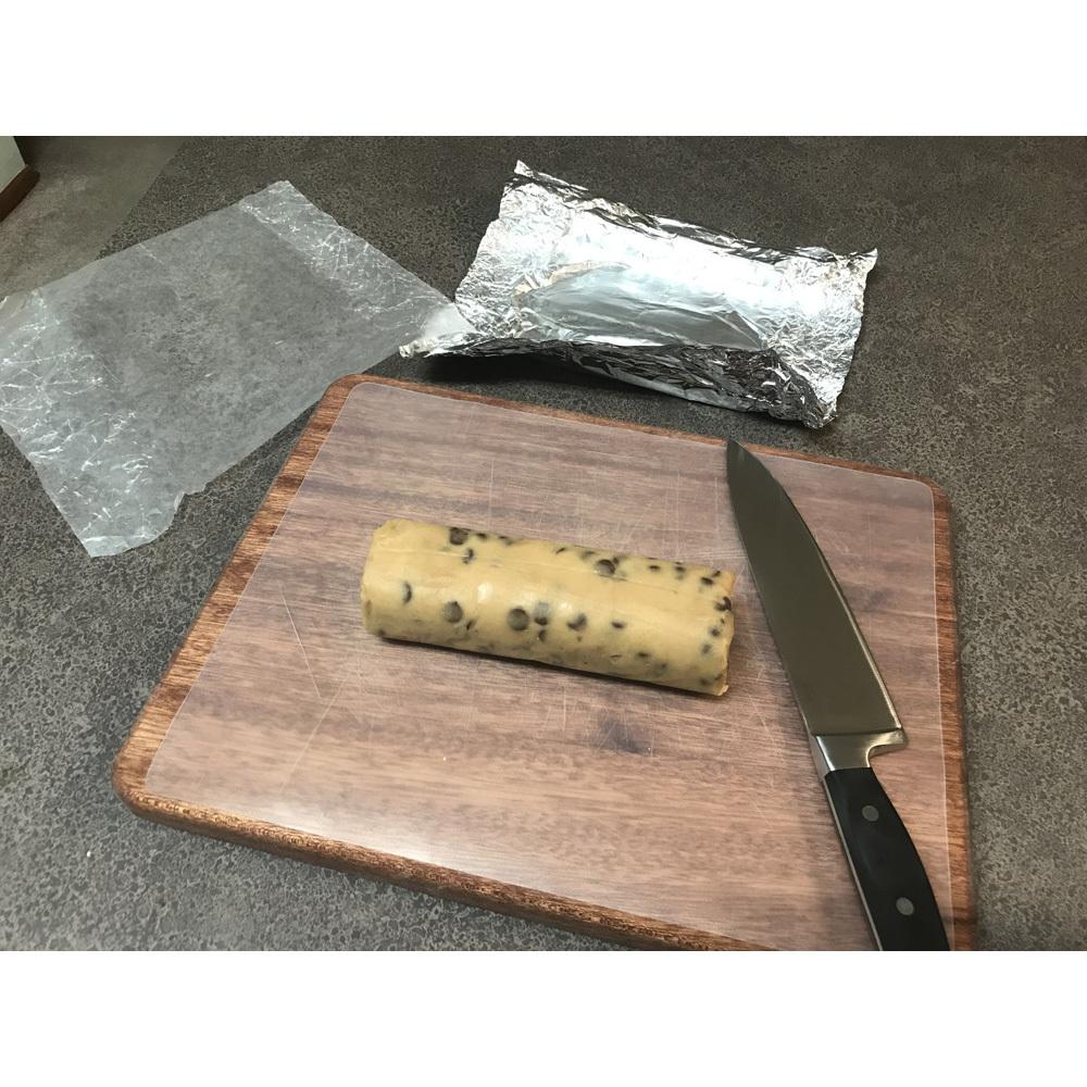 Chocolate Chip Cookie Log 01