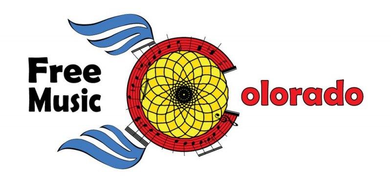 Vector Graphic | Free-Music-Colorado-Banner-Logo