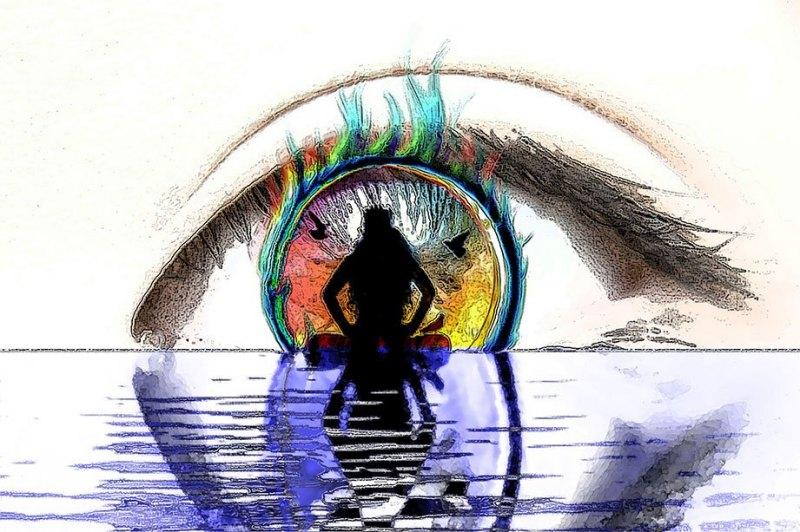 Photo Graphic | Divine Reflection